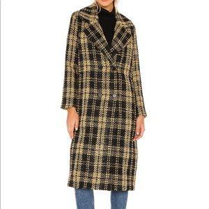 Tularosa Plaid Coat